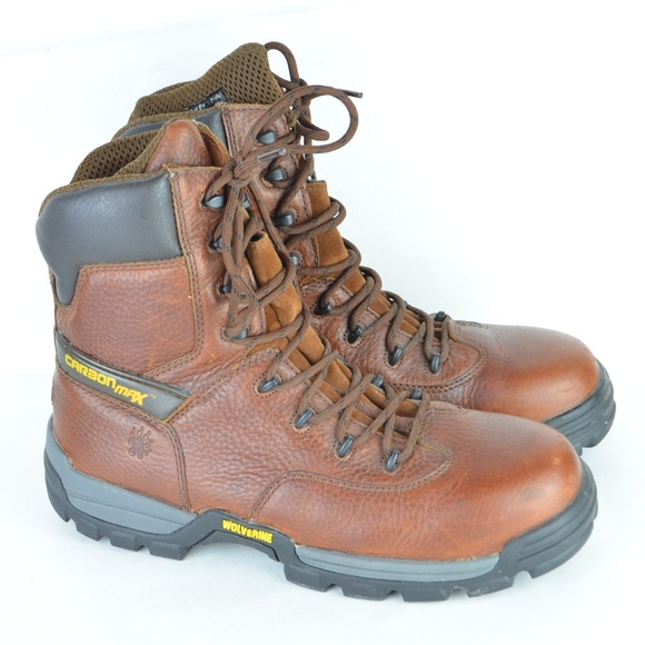 6abe6167c5f Wolverine Carbon Max Work Boots Men 9.5 Extra WIDE